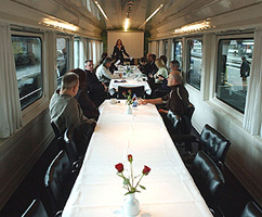 Private Carriages for Escorted Group Rail Travel in Europe and the UK