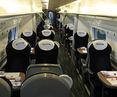 Group rail travel in private carriages